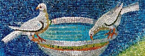 arte-paleocristiano-palomas-mosaico-mausoleo-galia-placidia
